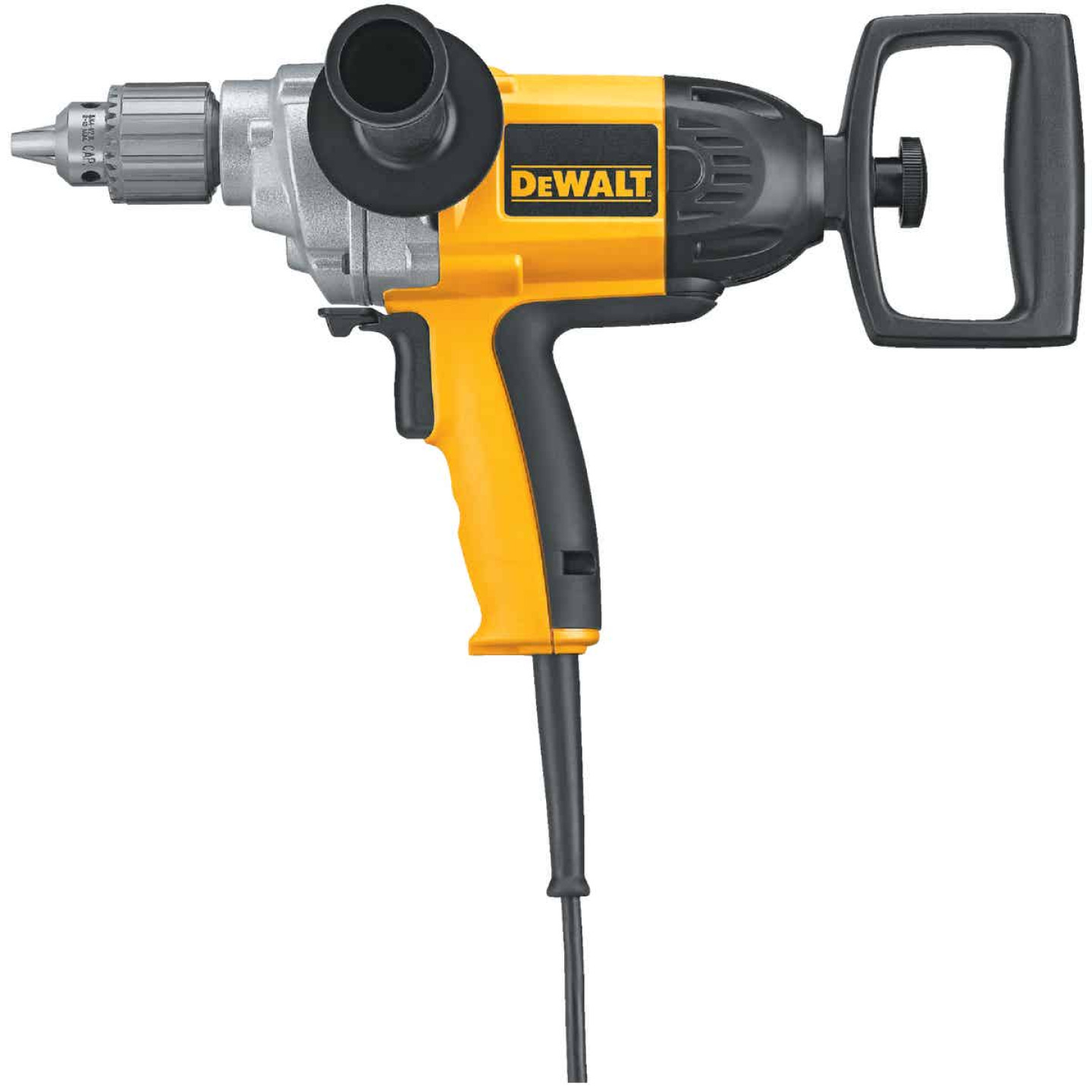 DeWalt 1/2 In. 9-Amp Keyed Electric Drill with Spade Handle Image 1