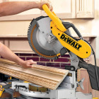 DeWalt 12 In. 15-Amp Dual-Bevel Compound Miter Saw Image 6