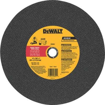 DeWalt HP Type 1 14 In. x 7/64 In. x 1 In. Metal Cut-Off Wheel