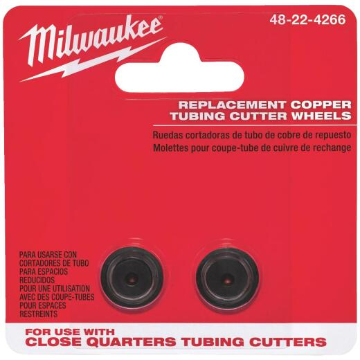 Milwaukee Replacement Cutter Wheel for Close Quarters Tubing Cutter (2-Pack)
