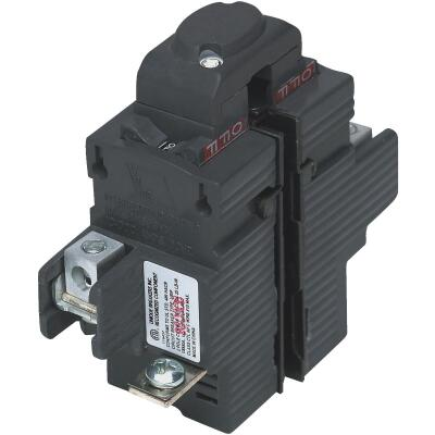Connecticut Electric 20A Double-Pole Standard Trip Packaged Replacement Circuit Breaker For Pushmatic