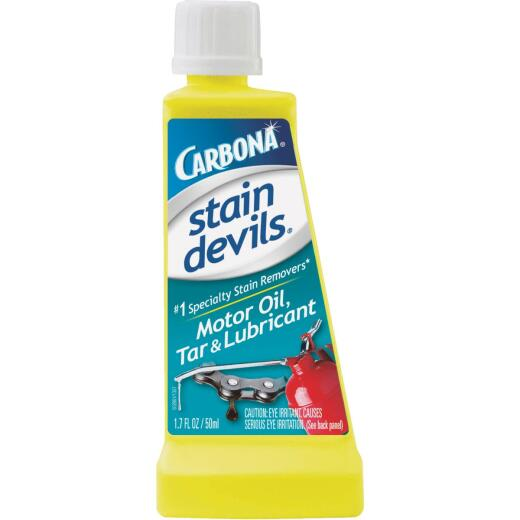 Carbona Stain Devils 1.7 Oz. Formula 7 Motor Oil, Tar & Lubricant Stain Remover