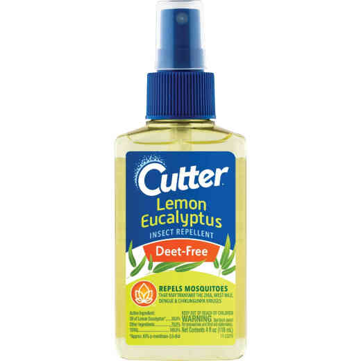 Cutter Lemon Eucalyptus 4 Oz. Insect Repellent Pump Spray