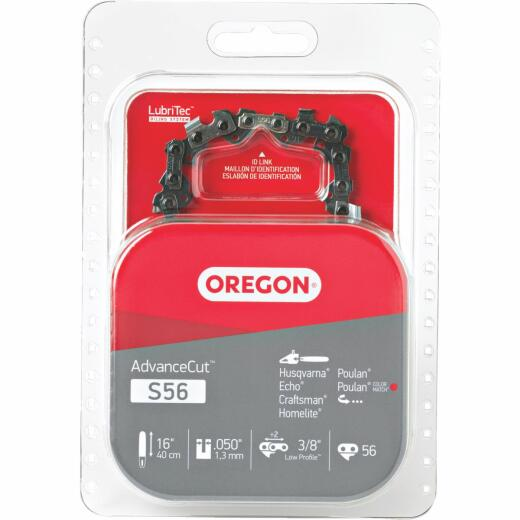 Oregon S56 16 In. Chainsaw Chain