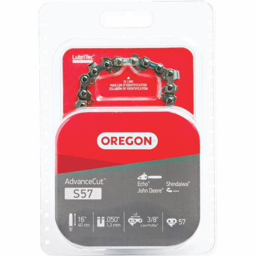 Oregon S57 16 In. Chainsaw Chain