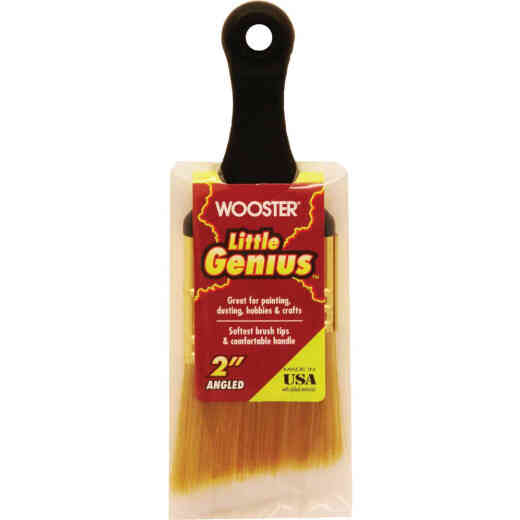 Wooster Little Genius 2 In. Angle Sash Short Handle Paint Brush