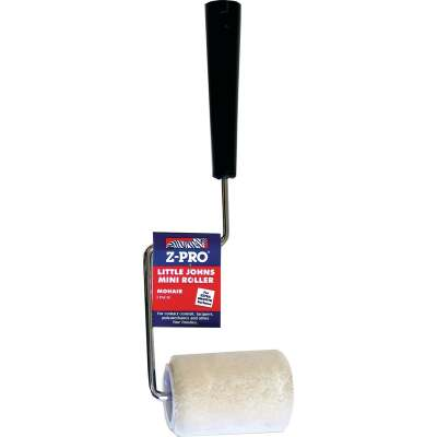 Premier Z-Pro 3 In. x 1/4 In. Smooth Mohair Paint Roller Cover & Frame