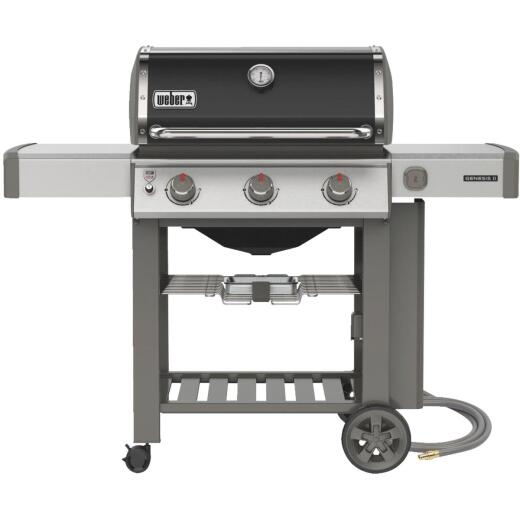 Weber Genesis II E-310 3-Burner Black 39,000 BTU Natural Gas Grill